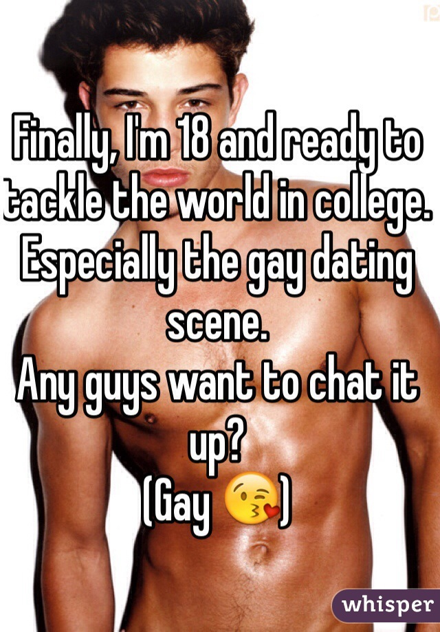 Chat college gay