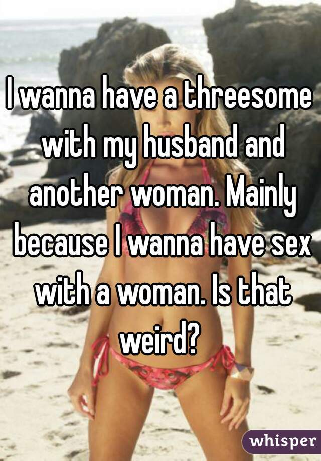 threesome with another woman