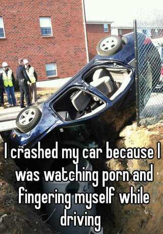 Masturbating Car While Driving