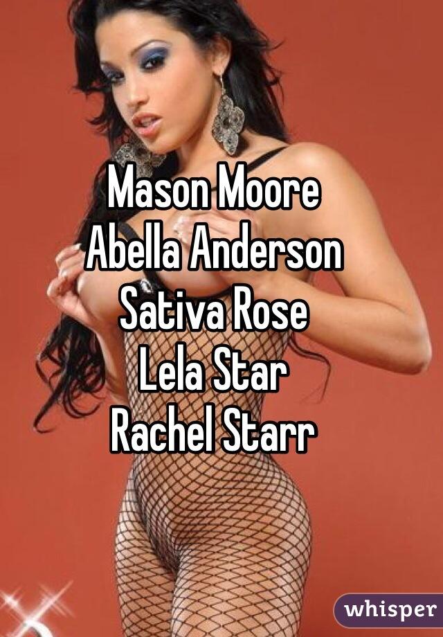 Lela Star And Rachel Starr