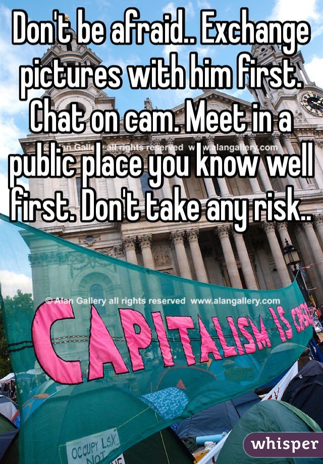 Public cam chat