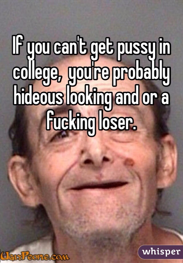 Cant get pussy