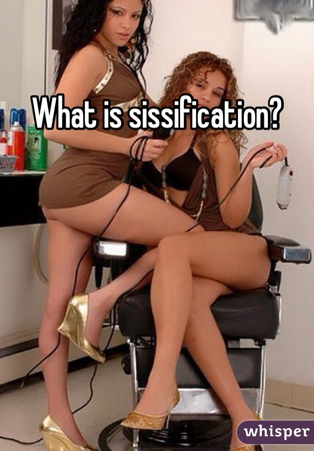 Sissyfication