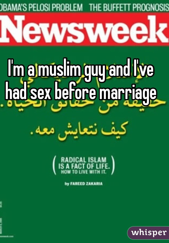 I'm a muslim guy and I've had sex before marriage