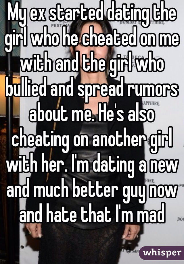 my ex is dating another girl