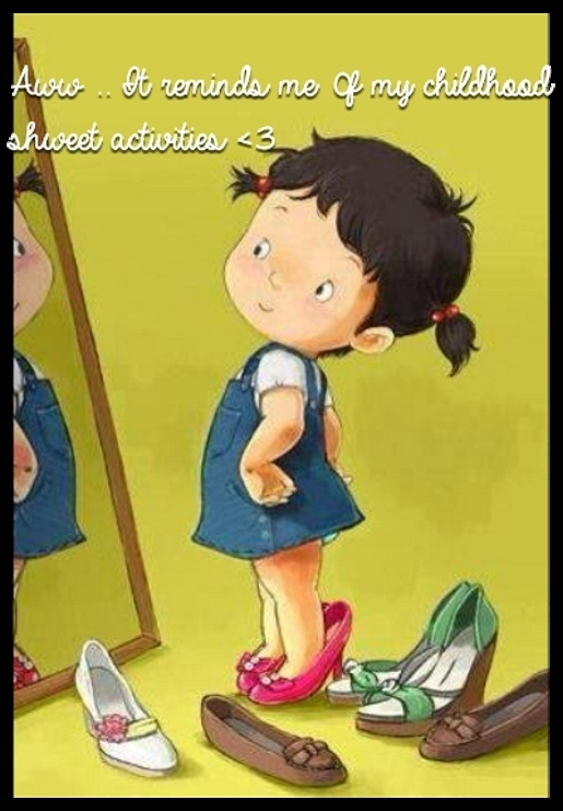 Aww .. It reminds me 0f my childhood shweet activities <3