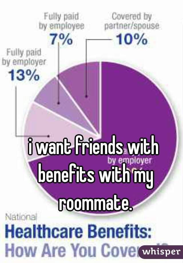 i want friends with benefits with my roommate.