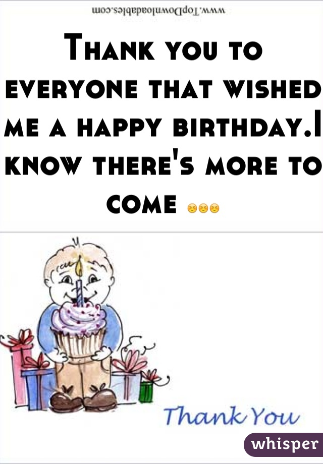 Thank you to everyone that wished me a happy birthday.I know there's more to come ☺☺☺