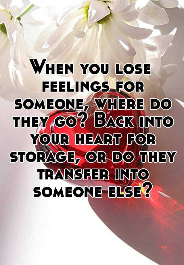 how to lose feelings for someone