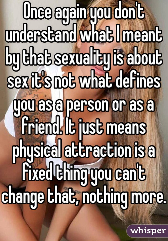 What Is Meant By Sexuality