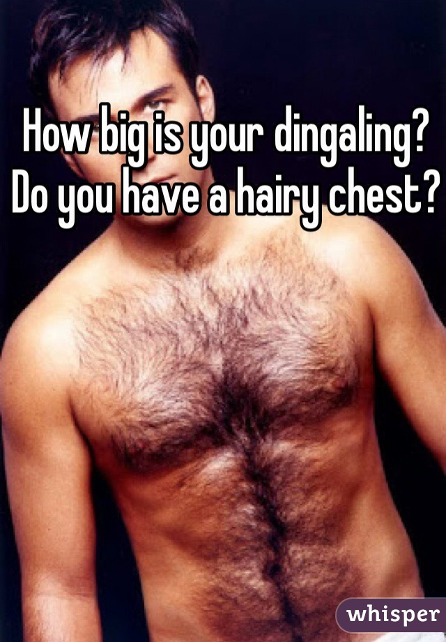 Why do i have a hairy chest
