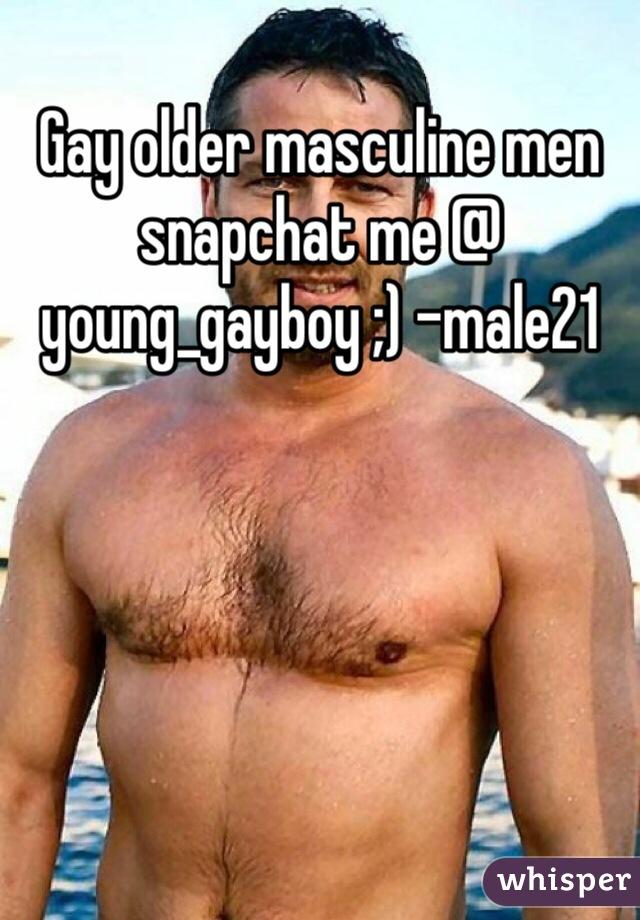 Gay old men snapchat