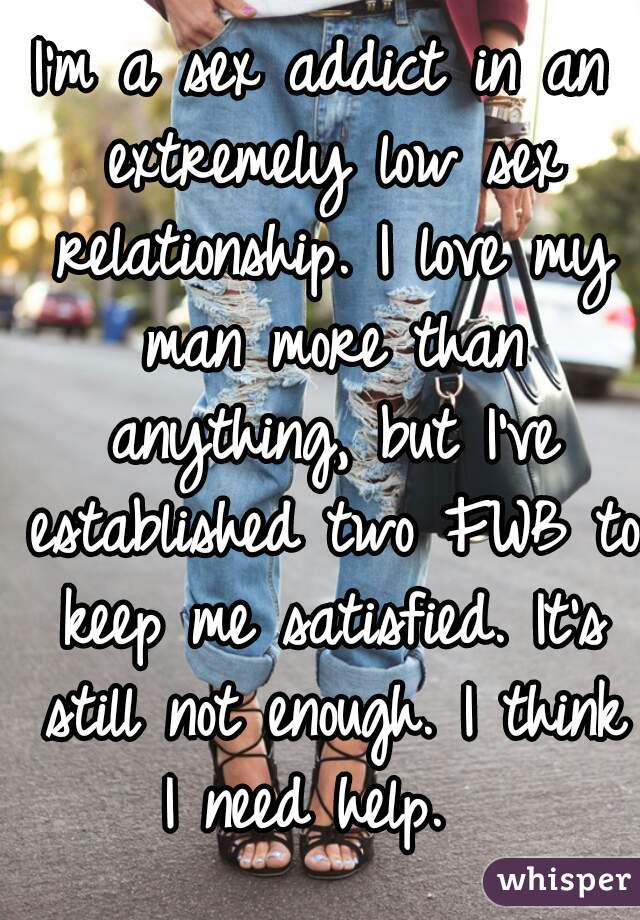 Not enough sex in my relationship