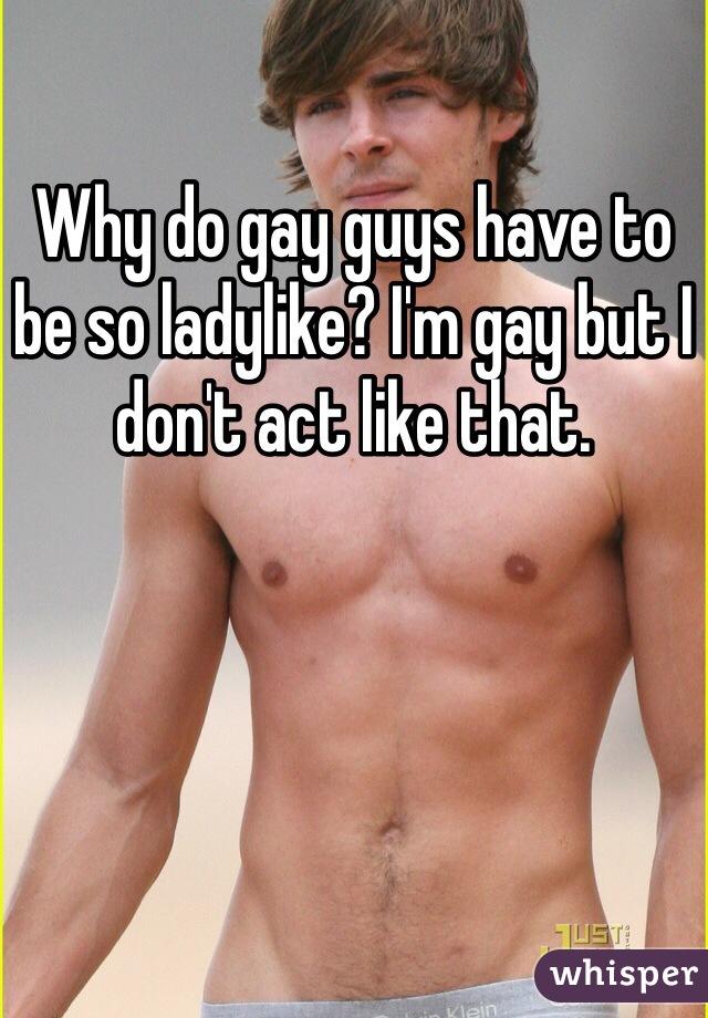 Gay man tobe