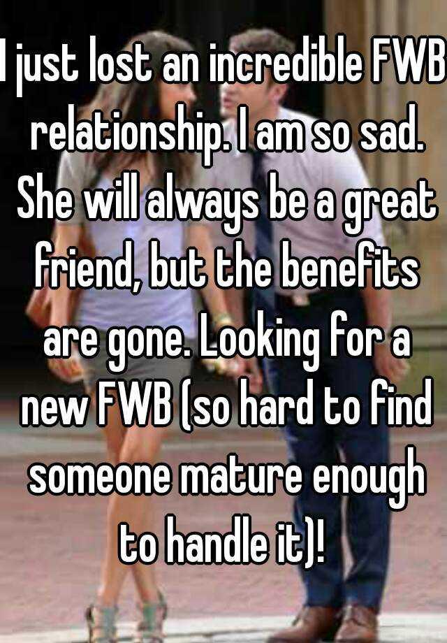 Fwb relationship