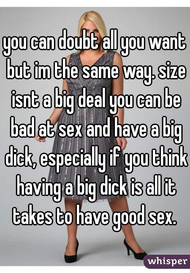 big dick bad