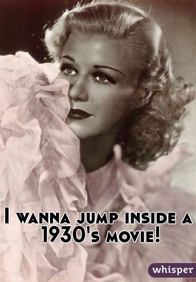 I wanna jump inside a 1930's movie!