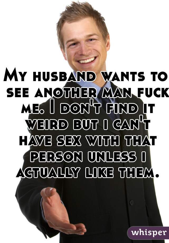 find a man to fuck