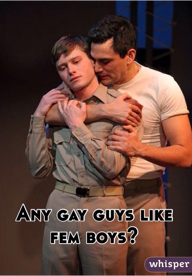 Gay femboys