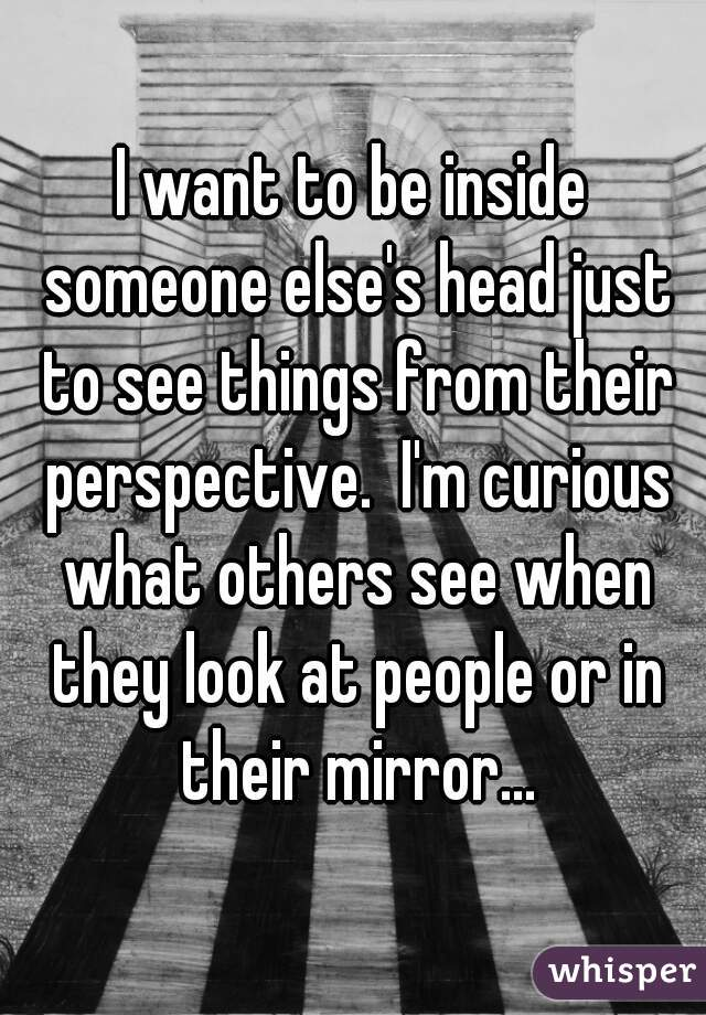 to see things from anothers point of view definition