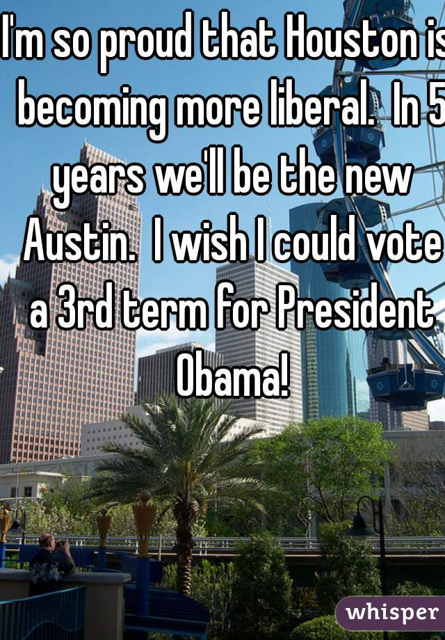 Houston liberal