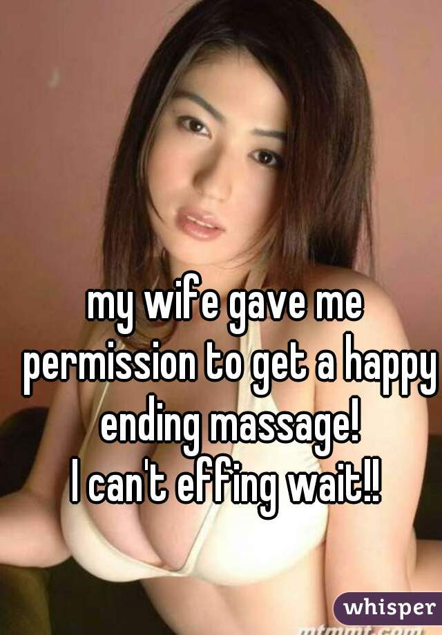 Wife Gets Happy Ending Massage