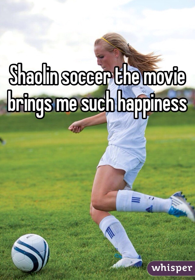 Shaolin soccer the movie brings me such happiness