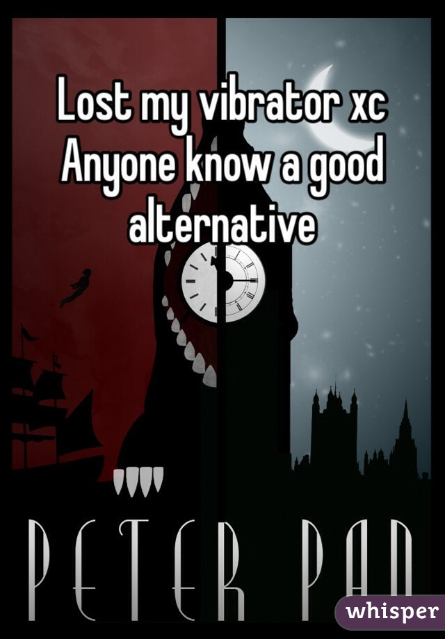 Lost my vibrator xc Anyone know a good alternative