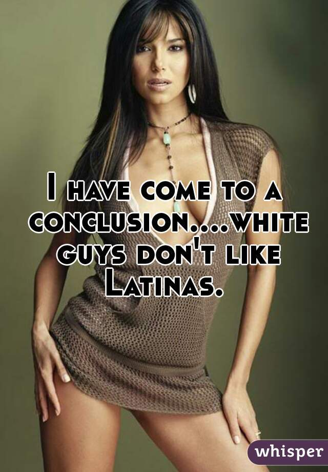 white guys and latinas