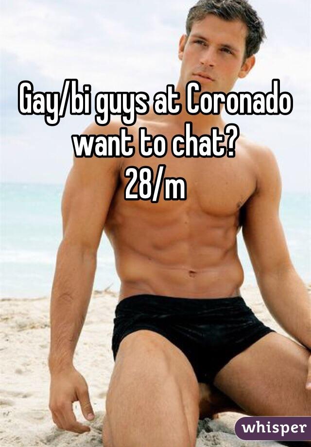 Gay/bi guys at Coronado want to chat? 28/m