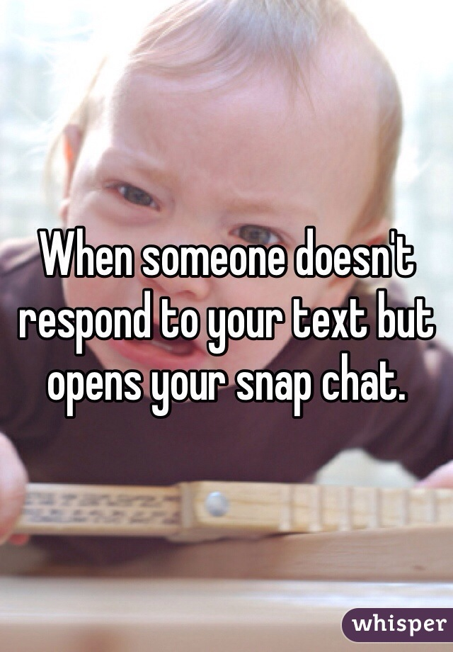 when a girl doesnt respond