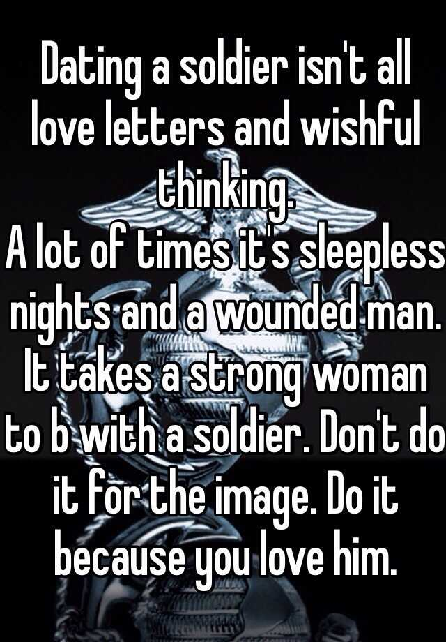 Dating A Man In The Military