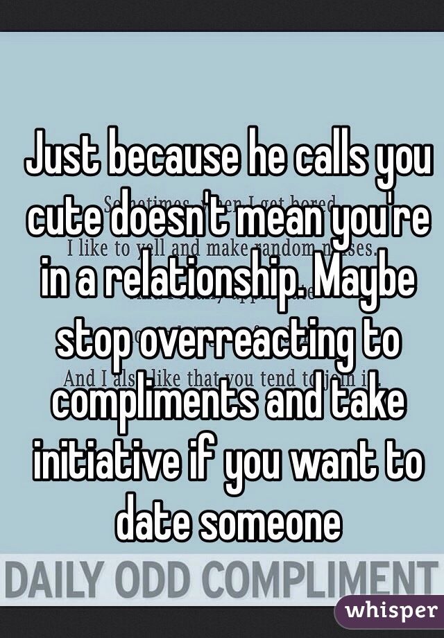 More dating advice