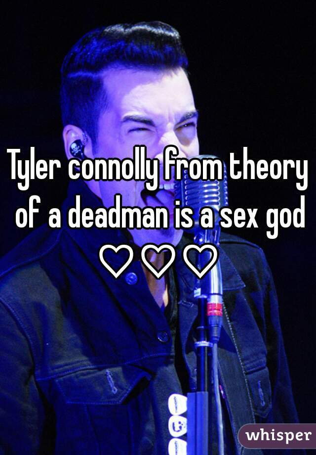 Tyler connolly from theory of a deadman is a sex god ♡♡♡