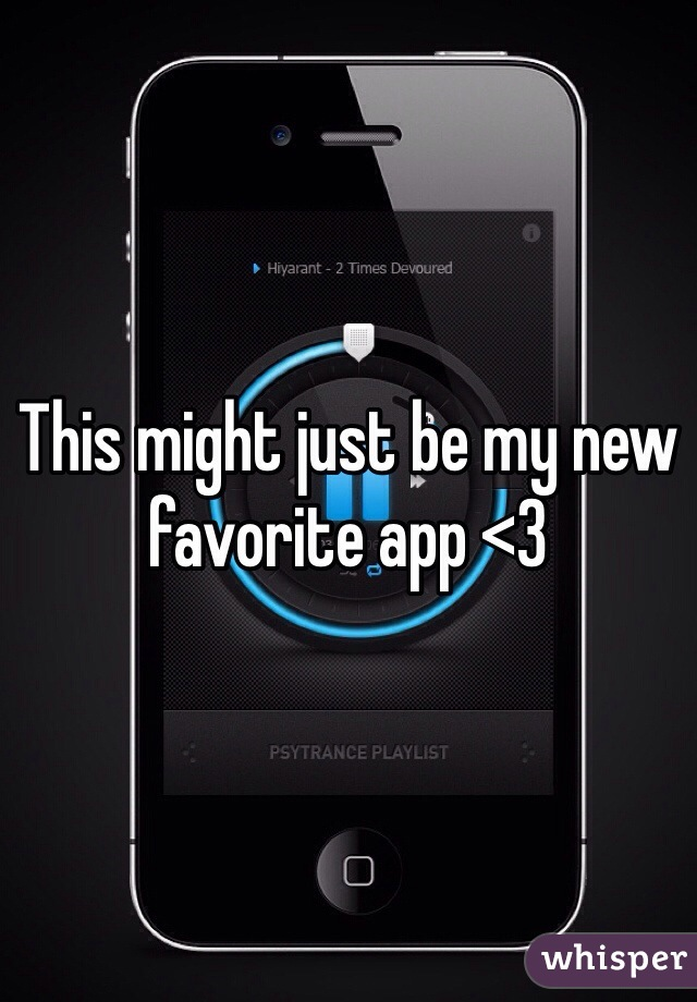This might just be my new favorite app <3