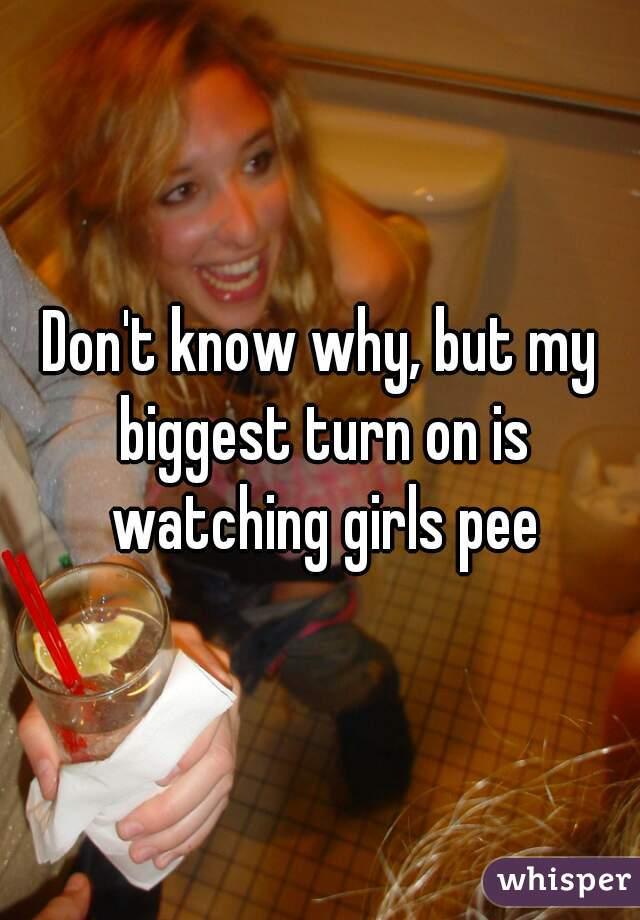 Watching Girls Piss
