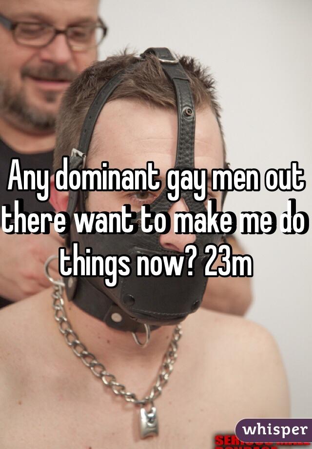 Things gay men like