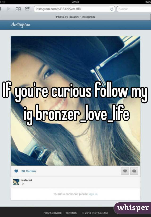 If you're curious follow my ig bronzer_love_life