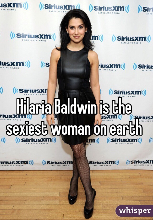 Hilaria Baldwin is the sexiest woman on earth