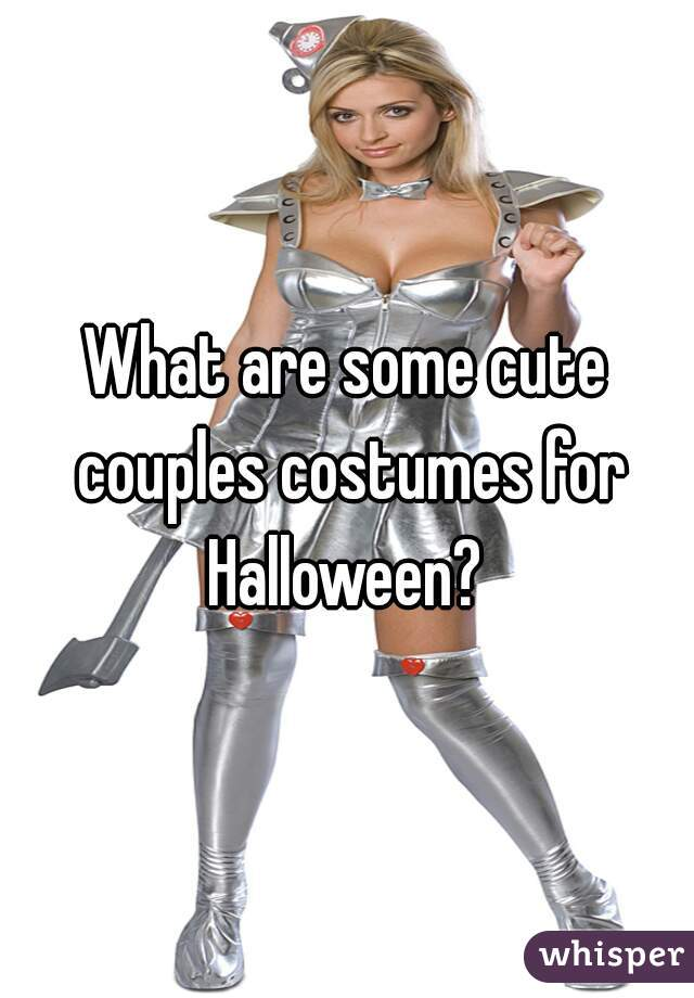 What are some cute couples costumes for Halloween?