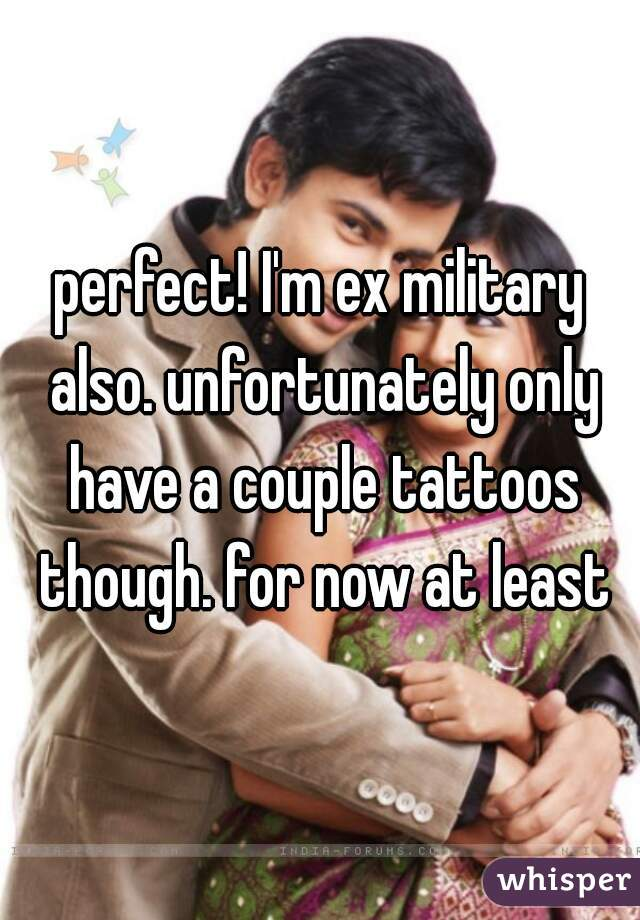 Perfect Im Ex Military Also Unfortunately Only Have A Couple