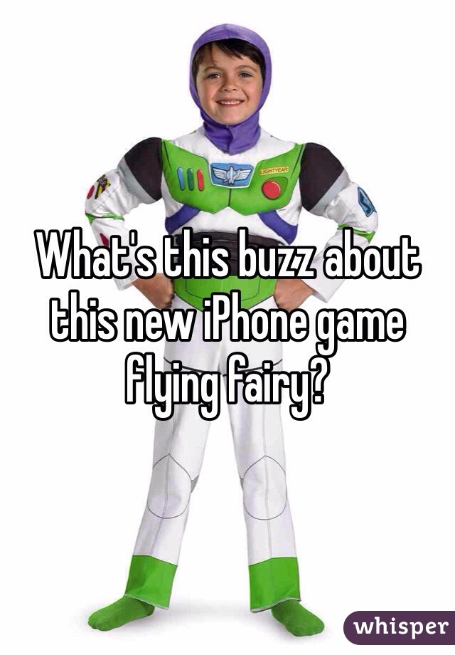 What's this buzz about this new iPhone game flying fairy?