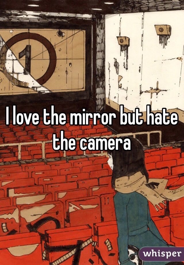 I love the mirror but hate the camera