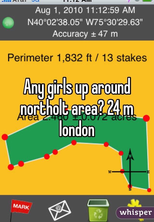 Any girls up around northolt area? 24 m london