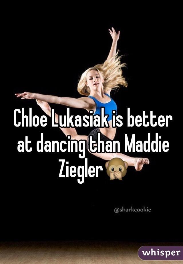 Chloe Lukasiak is better at dancing than Maddie Ziegler🙊