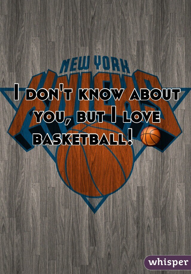 I don't know about you, but I love basketball! 🏀