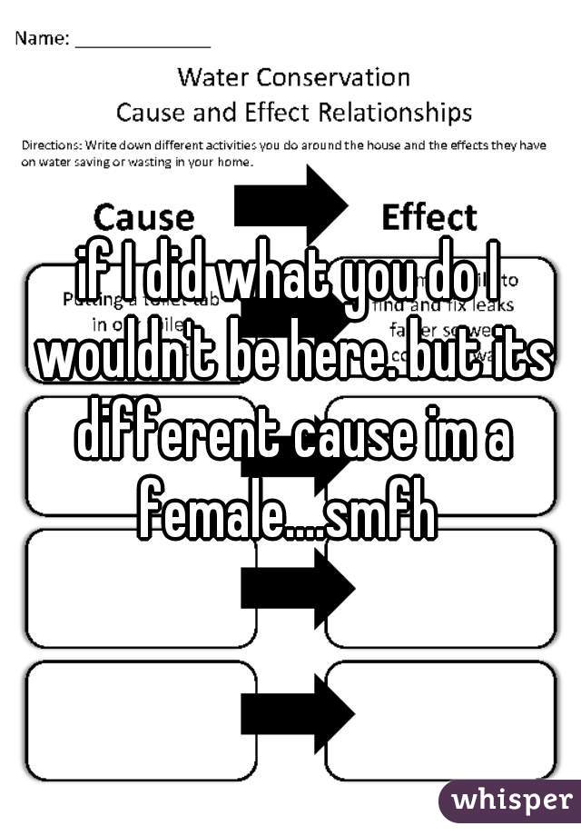 if I did what you do I wouldn't be here. but its different cause im a female....smfh