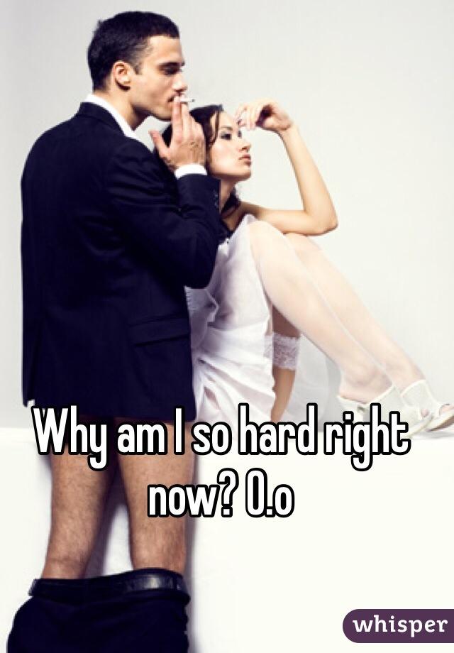 Why am I so hard right now? O.o