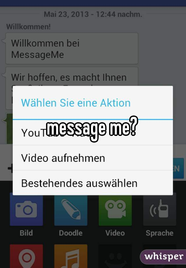 message me?
