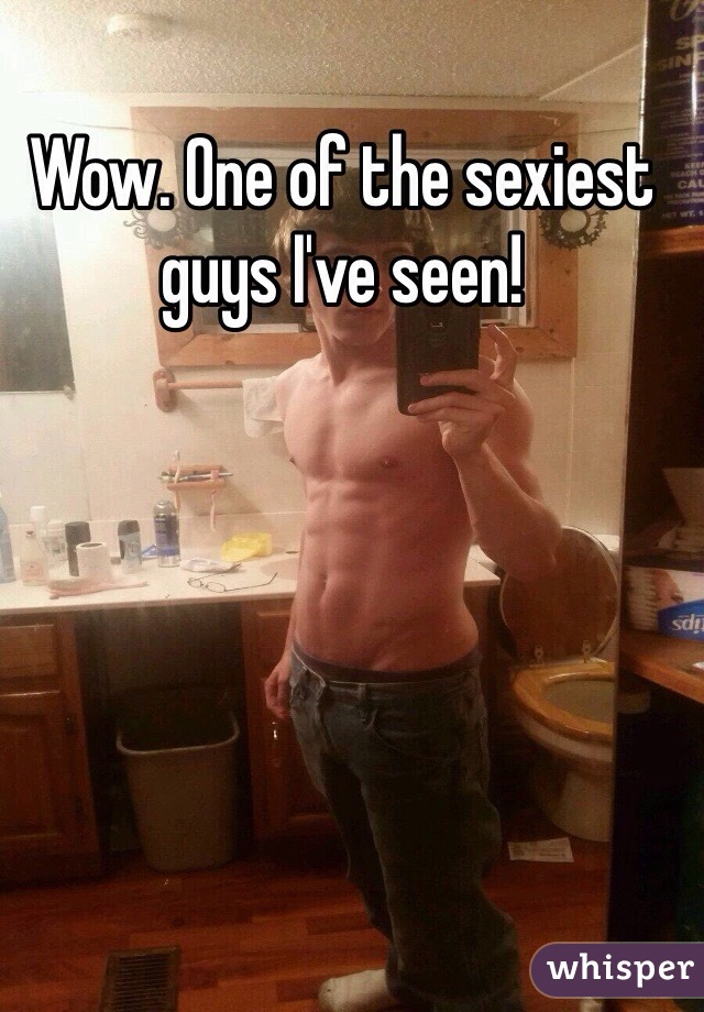 Wow. One of the sexiest guys I've seen!